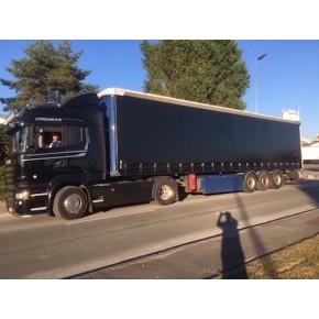 Rideaux coulissants de camion