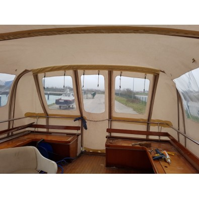 Taud de cockpit pour bateau