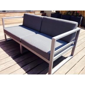 Coussins d'assise et dorsal en grille micro perforée Batyline