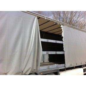 Réparation de bâches de camions