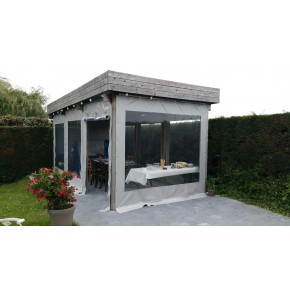 toile pour pergola v randa b ches pergola nord b ches. Black Bedroom Furniture Sets. Home Design Ideas
