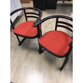 Ré-entoilage de galettes d'assise pour chaises de bureau