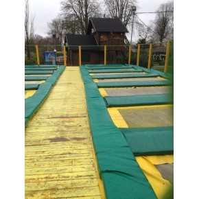 Matelas pour trampoline