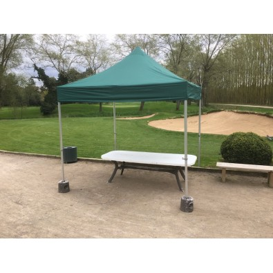 Tente pliable Tonnelle 3X3 coloris vert