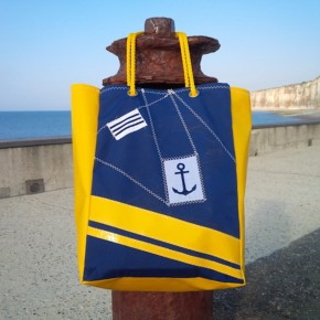 KAPADODESIGN : sac en bâche et toile de spi