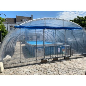 Application protection de piscine