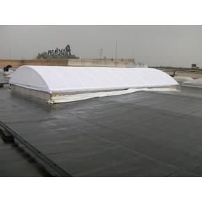 Couverture de skydome en grille