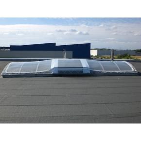 Couverture de skydome en bâche
