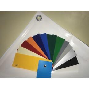 Bâche plate blanche et sa gamme de coloris