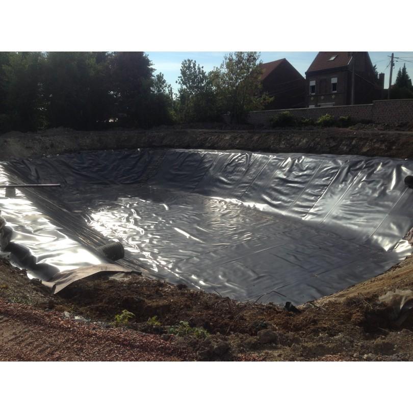 B che pour bassin de r tention d 39 eau nord b ches for Membrane bassin