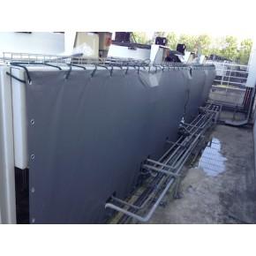 B che sur mesure pour protection industrielle nord b ches for Bache de bassin sur mesure