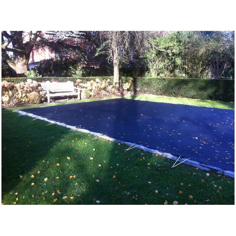 bache de piscine d 39 hivernage en grille nord b ches. Black Bedroom Furniture Sets. Home Design Ideas
