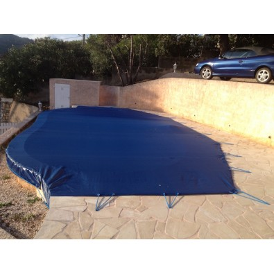 Bâche de piscine PVC