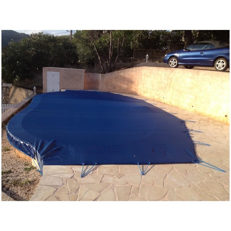 B che de piscine pvc nord b ches for Bache piscine