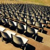 Tribunes Gradins sièges coques